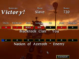 Warcraft II: Battle.net Edition Windows After each victorious mission, you may see statistics of your allies, enemies, and yourself.