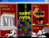 Jewel Master Windows 3.x Game over