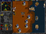 Warcraft II: Battle.net Edition Windows After making out to enemy shore, good thing would be to build up your defenses before further attacking.