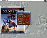 Sid Meier's Colonization Amiga Select your nationality