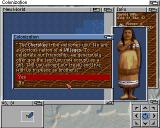 Sid Meier's Colonization Amiga You soon come in contact with the locals - Do you want peace or war?