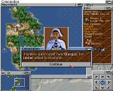 Sid Meier's Colonization Amiga Pioneers are essential to improve your colony's land and production abilities