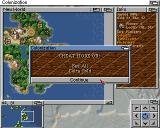 Sid Meier's Colonization Amiga If it's all too much, there is always this option - if you know the code, that is.