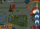 "Aero Fighters 2 Neo Geo The ninja plane releases <a href=""http://en.wikipedia.org/wiki/Shuriken"">shurikens</a>."