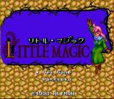 Little Magic SNES Title screen