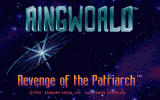 Ringworld: Revenge of the Patriarch DOS Title screen