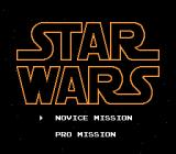Star Wars NES There's two difficulty levels... Novice is hard enough, I wonder how Pro is.
