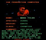Power Punch II NES Our, uh, hero's profile.