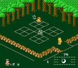 Knight Lore NES This guy seems to want things you find around the forest...