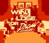 Win, Lose, or Draw NES Title screen.
