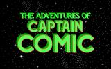 The Adventures of Captain Comic DOS Opening Titles