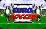 Euro Soccer DOS Title Screen (VGA)
