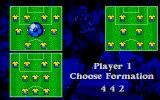 Euro Soccer DOS Formation Selection (VGA)