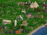 Sid Meier's Civilization II PlayStation City view