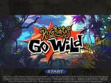 Rugrats Go Wild start screen