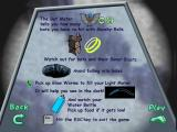 Rugrats Go Wild Windows Game instructions for the spooky bat cave