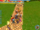 RollerCoaster Tycoon 3 Windows Your peeps interacting.