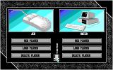 7 Colors Amiga Player Selection Screen