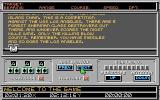 688 Attack Sub Amiga Once you have put in the correct password then you are given your mission briefing and can then access the various other ship stations, some others screens are: