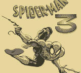 Spider-Man 3: Invasion of the Spider-Slayers Game Boy Title Screen