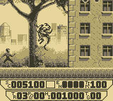 Spider-Man 3: Invasion of the Spider-Slayers Game Boy Where have I seen this monster before?