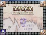 DROD: Journey to Rooted Hold Windows Menu and title screen