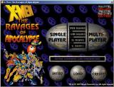 X-Men: The Ravages of Apocalypse DOS Windows game-launcher