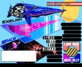 Cybernetic Hi-School Part 3: Gunbuster MSX The map screen