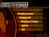 Command & Conquer: Renegade Windows Main Menu
