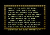 Bozo's Night Out Commodore 64 Instructions