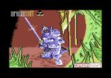 Camelot Warriors Commodore 64 Title screen