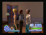 The Sims 2 PlayStation 2 Background gets blurry while having conversations