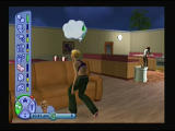 The Sims 2 PlayStation 2 Trying to reach sofa