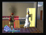 The Sims 2 PlayStation 2 I can't cook, but at least i am married