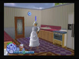The Sims 2 PlayStation 2 I think i should call to maid to help me out with this mess