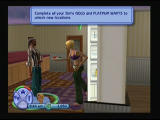 The Sims 2 PlayStation 2 Closing doors by hitting with a leg
