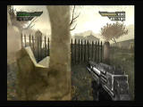 Black PlayStation 2 Tombstones provide protection while under fire by snipers.