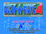 Bust-A-Move 4 Windows Title screen