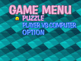 Bust-A-Move 4 Windows Choose puzzle or vs. mode