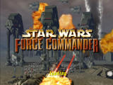 Star Wars: Force Commander Windows Title screen