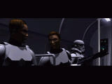 Star Wars: Force Commander Windows The opening cinematic establishes two characters in the game.