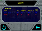 Star Wars: Force Commander Windows Scoreboard after completing a mission.