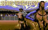 Buffalo Bill's Wild West Show Commodore 64 Next up: Steer Wrestling