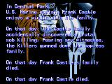 The Punisher Genesis Background story on Frank Castle, the Punisher. This isn't revenge, it's punishment.