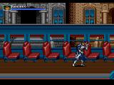 The Punisher Genesis You will fight the stage boss in a bus.