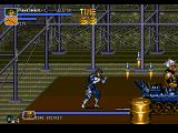 The Punisher Genesis The stage 3 boss is Bone Breaker.