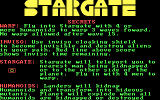 Stargate PC Booter secret tips!
