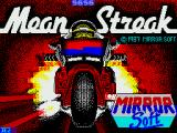 Mean Streak ZX Spectrum Loading screen - the leathers change colour periodically