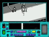 Mean Streak ZX Spectrum Shooting the barriers to create a minor explosion