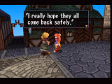 Threads of Fate PlayStation Getting a quest in the town of Carona